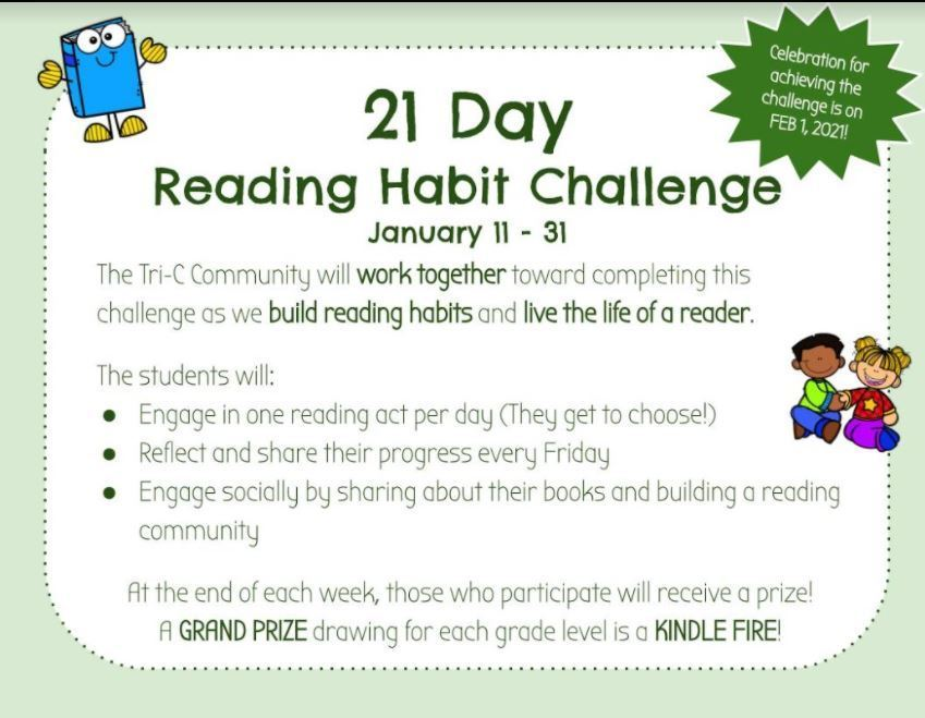 21  Day Reading Habits Challenge