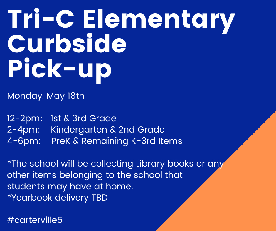 Tric Elementary curbside pick up