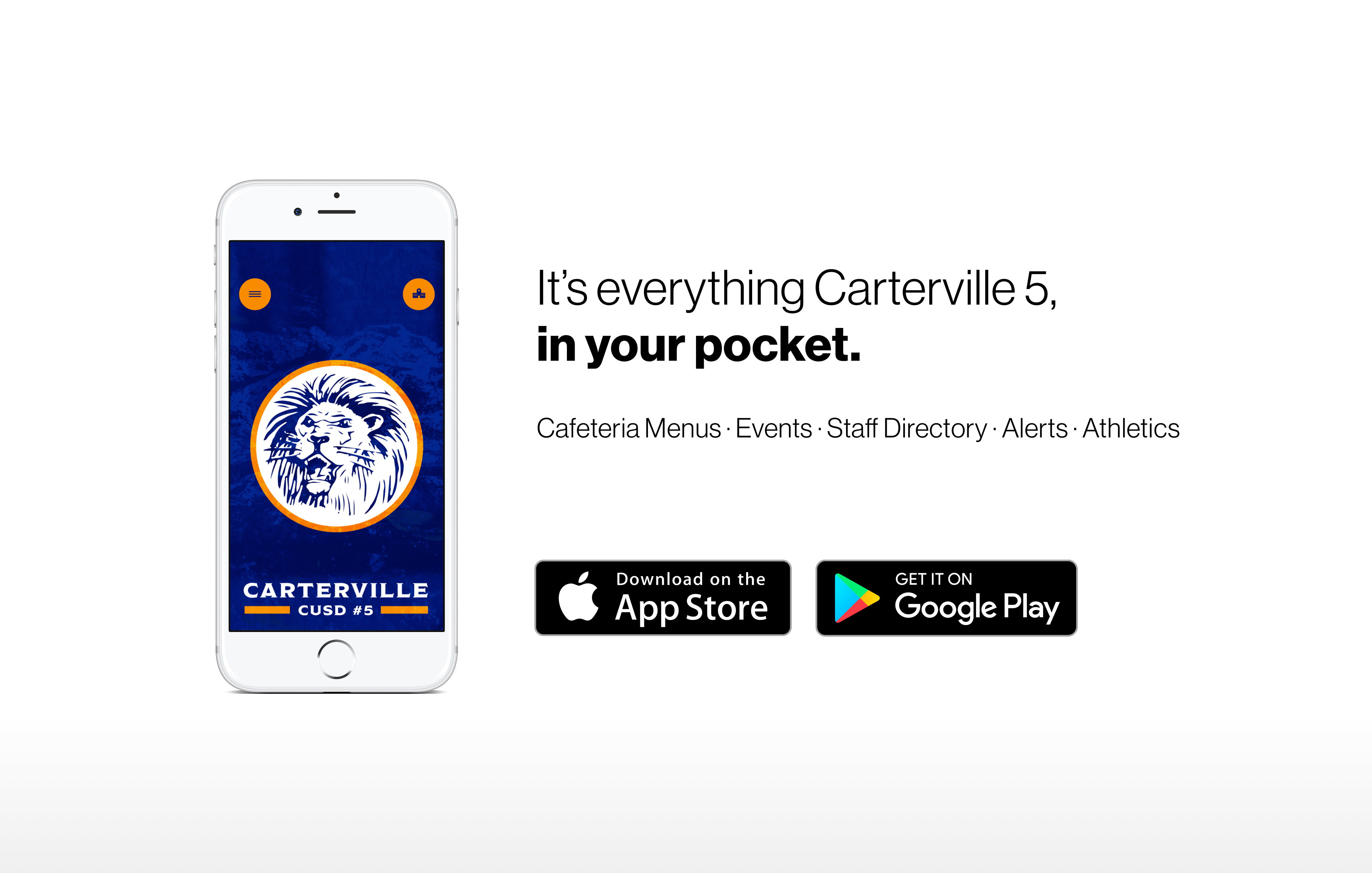 It's everything Carterville 5, in your pocket.